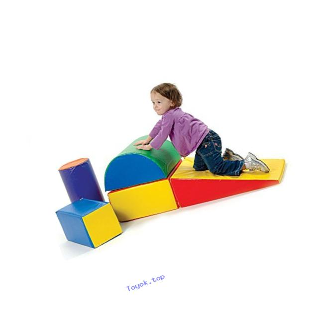 Constructive Playthings TCF-323 Cp Toys 5 Piece Lightweight Vinyl Soft Play Forms For Toddlers