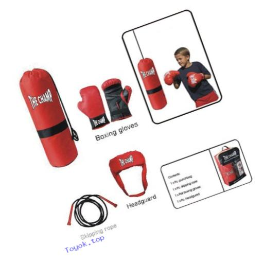 Amber Fight Gear Deluxe Boxing Toy Set, Junior