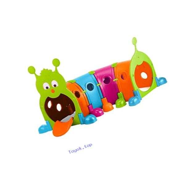 ECR4Kids GUS Climb-N-Crawl Caterpillar, 4-Sections, Vibrant