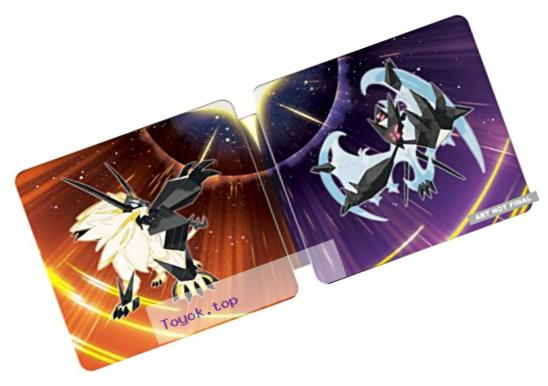 Pok?©mon Ultra Sun and Ultra Moon Steelbook Dual Pack - Nintendo 3DS