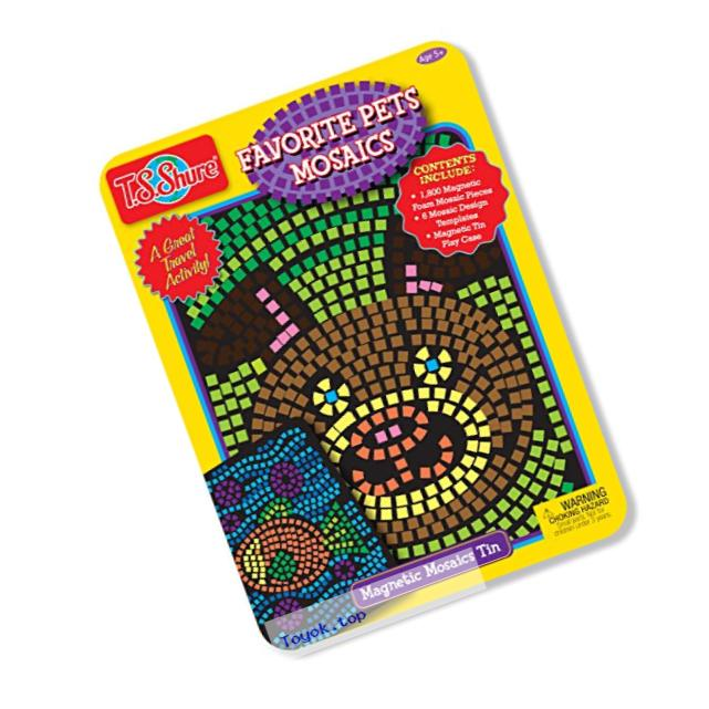 Favorite Pets Mosaics Activity Tin Playset