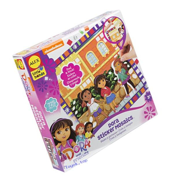 ALEX Toys Dora & Friends Sticker Mosaics Kit